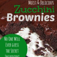 Zucchini Brownies with Perfect Chocolate Frosting