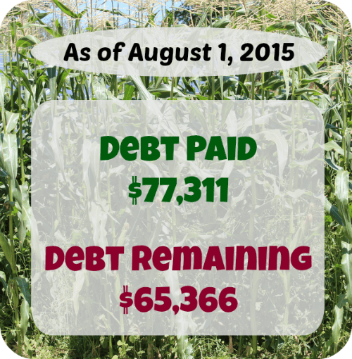 At Six Figures Under, we make our personal finances public. Here's a detailed report of our debt repayment and what we earn and spent in July.