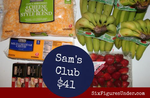 Sam's Club Groceries