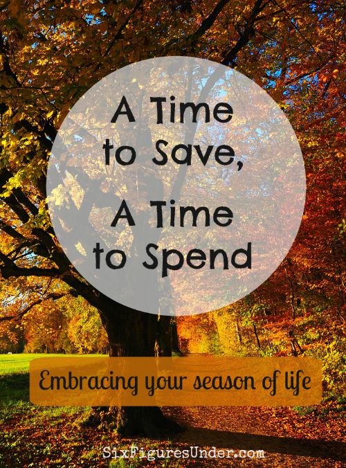 We all go through frugal fluctuations. In some seasons of life we are willing to do more to save money than in others. Are you in a spending season or a saving season?