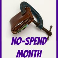 Welcome to the September No-Spend Month Challenge