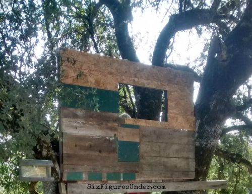 We're building a tree house out of reclaimed wood that we got for free because we asked. Here are lots of ways to get things for free!