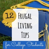 Frugal Living Tips for College Students