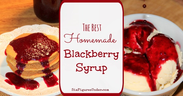 Hands down the best blackberry syrup you've ever had! Perfect for pancakes, waffles, ice cream, cheesecake, and more!