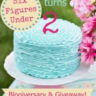 Six Figures Under Turns TWO– KitchenAid Giveaway