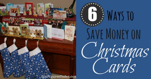 Six practical ways to save money on Christmas Cards