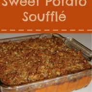 Sweet Potato Soufflé