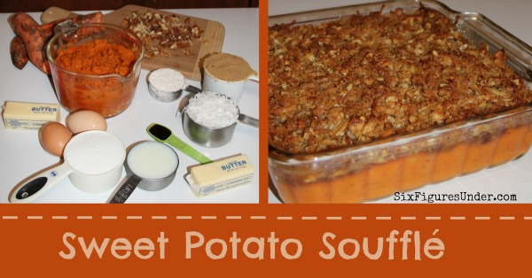 Sweet Potato Souffle is the a sweet fall dessert disguised as a side dish!