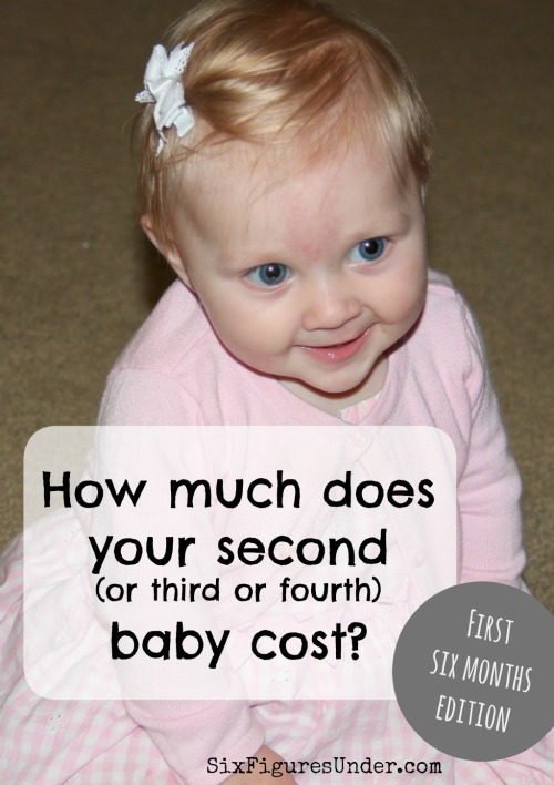 How much does raising a child cost? Are there discounts for subsequent children? Forget the ridiculous estimates. Here are our real expenses for baby during the first six months.
