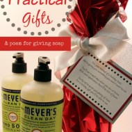 Giving Practical Gifts (and a printable poem)