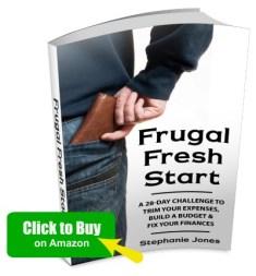 Buy Frugal Fresh Start on Amazon