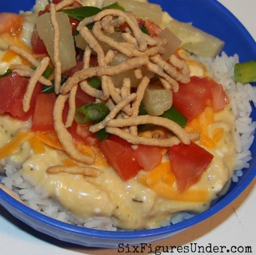 Hawaiian Haystacks-- A Favorite Family Dinner