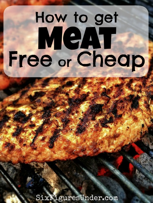 If the prices in the meat department are killing your budget, then you need to try these great money-saving strategies for getting meat free or cheap!