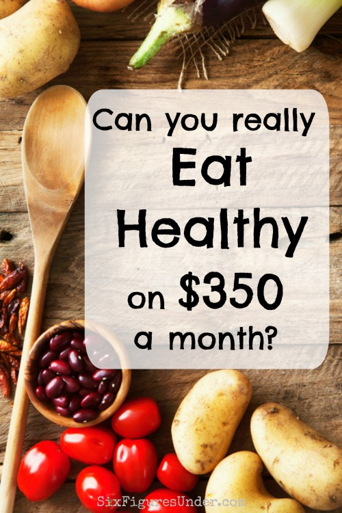 Healthy foods don't have to be expensive. You can eat real, whole foods on a pretty tight budget. Here's how you can feed your family for under $350 a month!