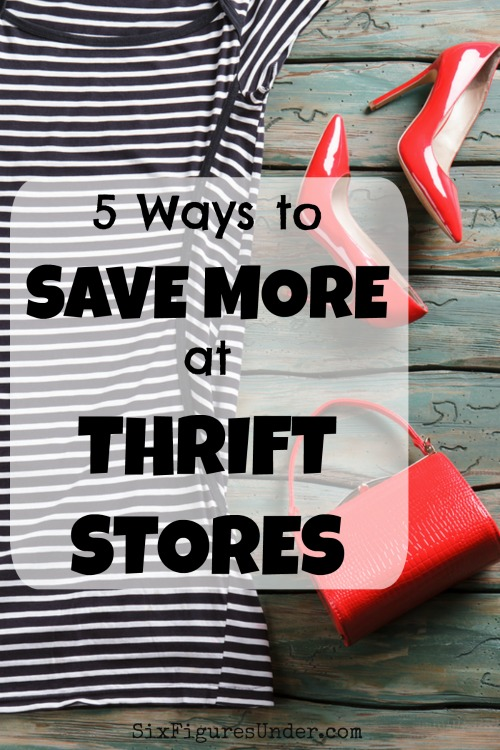 While thrift stores will save you money just by their nature, don't stop there. Come up with your own strategy to save the most money.