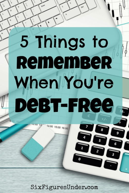 If you want to stay out of debt and keep your friends too, here are some things to remember so you won't fall back into debt or turn into a debt-free snob.