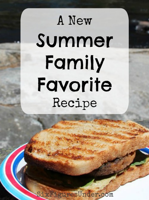 On a recent family camping trip we discovered a new family favorite recipe for the summertime. This twist on a classic burger was a great new combination we love!