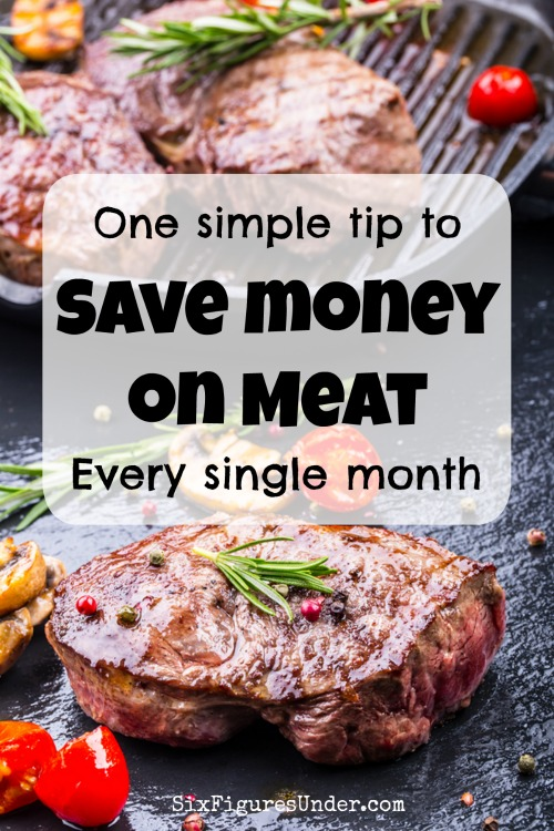 The ridiculous price of meat doesn't have to ruin your grocery budget. With this simple, yet effective tip, you'll save money on meat without a doubt!
