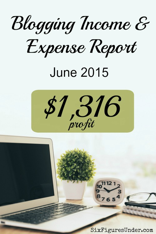 Every month I share my blogging income report along with my expenses to help others get ideas of how they can earn and income from blogging too!