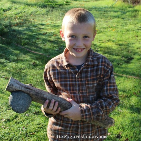 handmade-primitive-stone-axe-made-by-a-seven-year-old