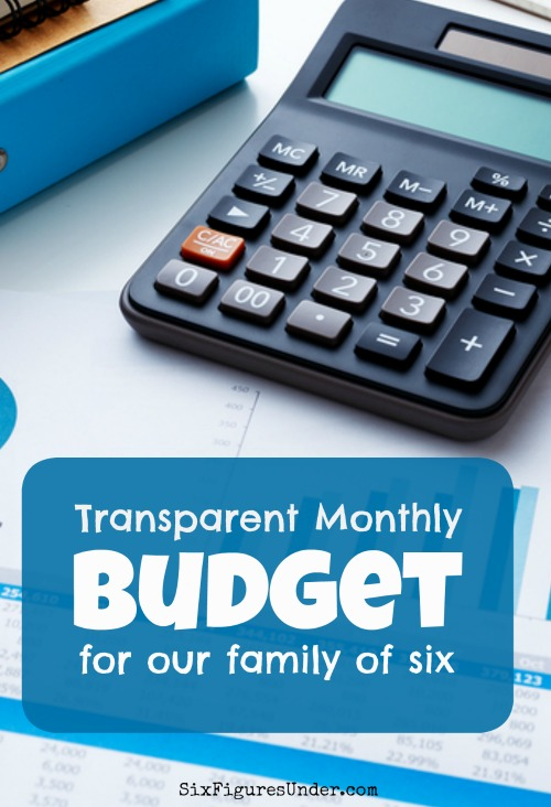 Curious what another family's transparent budget looks like? Each month this family shares exactly how much they earn, spend, and save. They aren't shy!