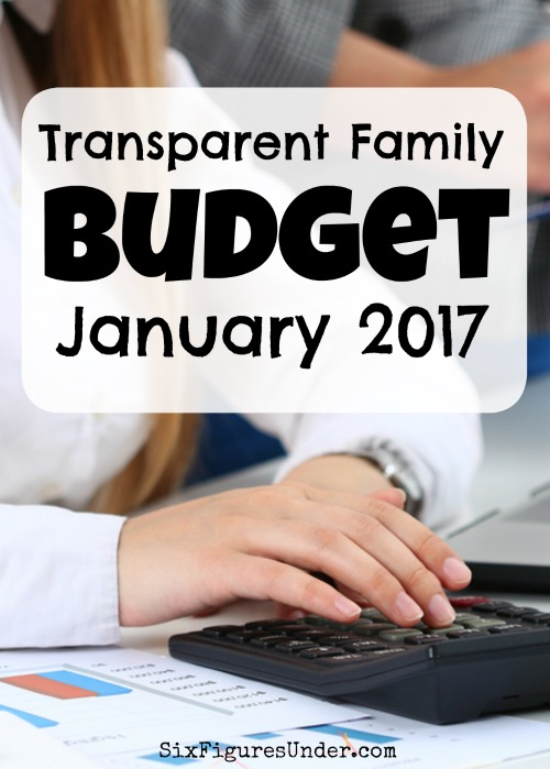 Every month we make our family's budget and finances public on our blog. Here's what our family of six earned and spent in January.