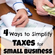 4 Ways to simplify taxes for small business owners