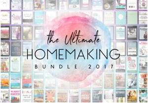 2017 Ultimate Homemaking Bundle
