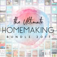 2017 Ultimate Homemaking Bundle