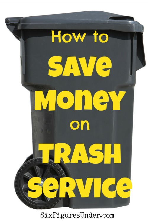 Paying for someone to haul away you trash can be frustrating! Here are some ways that you can save money on your trash service or eliminate it altogether!
