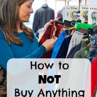 How to NOT Buy Anything NEW– My Secret to Saving