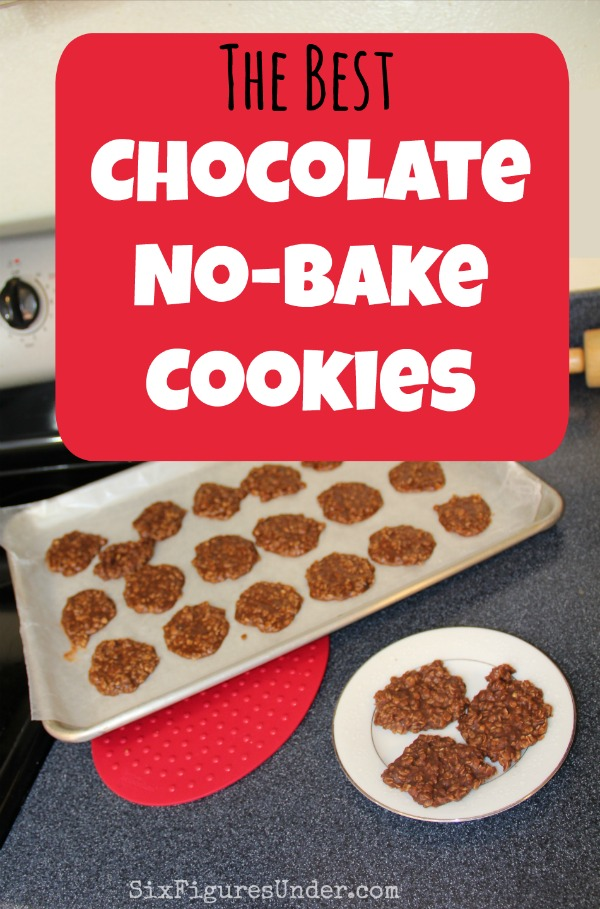 The Best Chocolate No-Bake Cookies-- A fast and frugal favorite