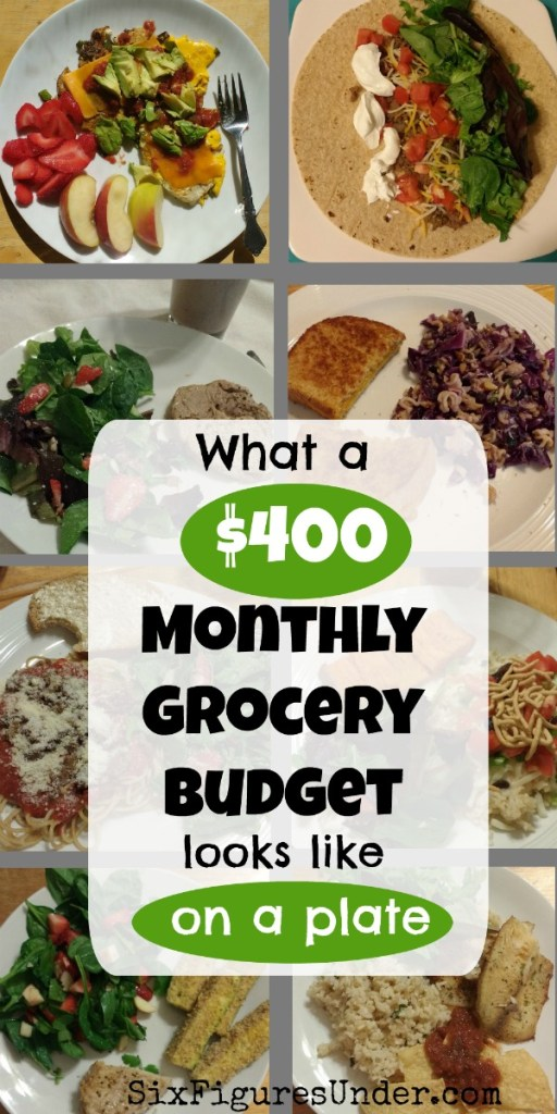 I love seeing what people actually eat on a low grocery budget. This family of 7 shows what's on their plates for a $400 montly food budget.