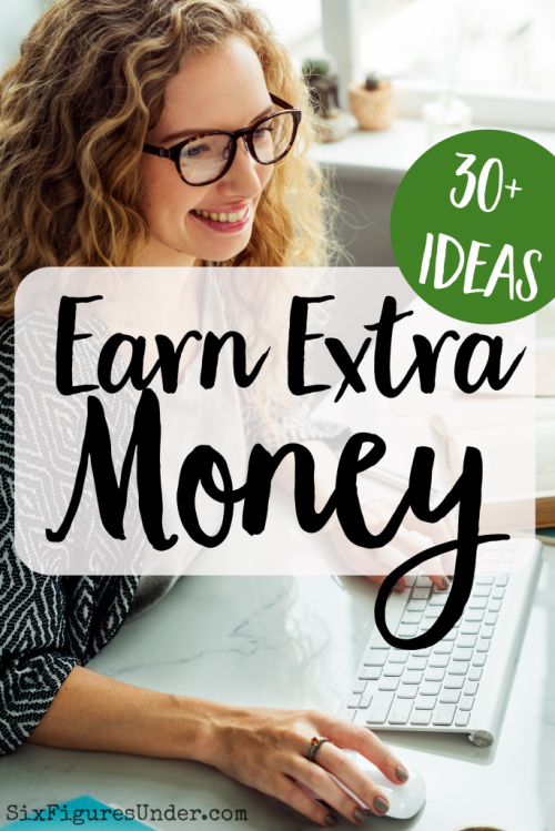 Increasing your income is a big part of making financial progress. I want to share with you a quick list of ways that you can earn extra money. If you are trying to get out of debt or have a tight budget, earning extra, even if it's just a little, can really help.