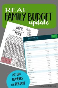 Every month we share our budget with real numbers to help you learn to budget and get inspiration to organize your own family finances.
