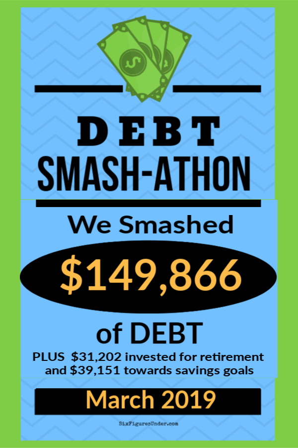 Debt Smash-athon MARCH Progress Report