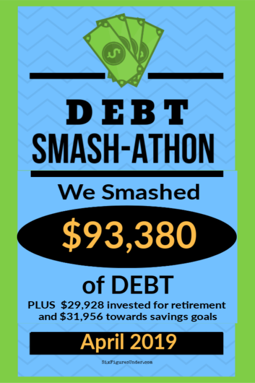 Every month in 2019 we're compiling the debt payoff experiences of our debt smashing community to keep us each accountable and to encourage one another. Check out the amazing financial progress everyone made in April!