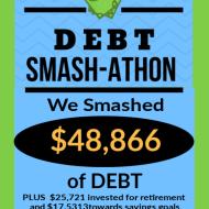 Debt Smash-athon NOVEMBER Progress Report