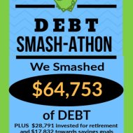 Debt Smash-athon OCTOBER Progress Report