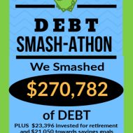 Debt Smash-athon SEPTEMBER Progress Report