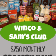 Monthly Grocery Shopping– October 2019