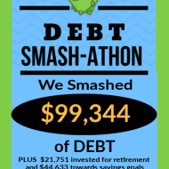 Debt Smash-athon FEBRUARY 2020 Progress Report