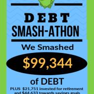 Debt Smash-athon FEBRUARY 2020 Progress Report