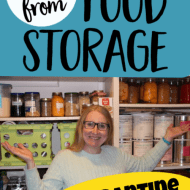 How We're Living Off Our Food Storage– No More Grocery Shopping For Us
