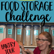 Pantry Update– After Two Months of Quarantine Food Storage Challenge