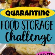 Quarantine Food Storage Challenge– Update 8 (What the Kids Think)