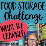 What We Learned From Our Quarantine Food Storage Challenge