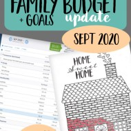 Real Family Budget Update– September 2020