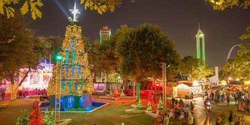 The Tree of Trees at Six Flags Over Texas