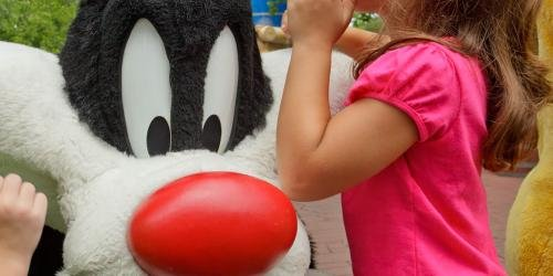 Sylvester and little girl